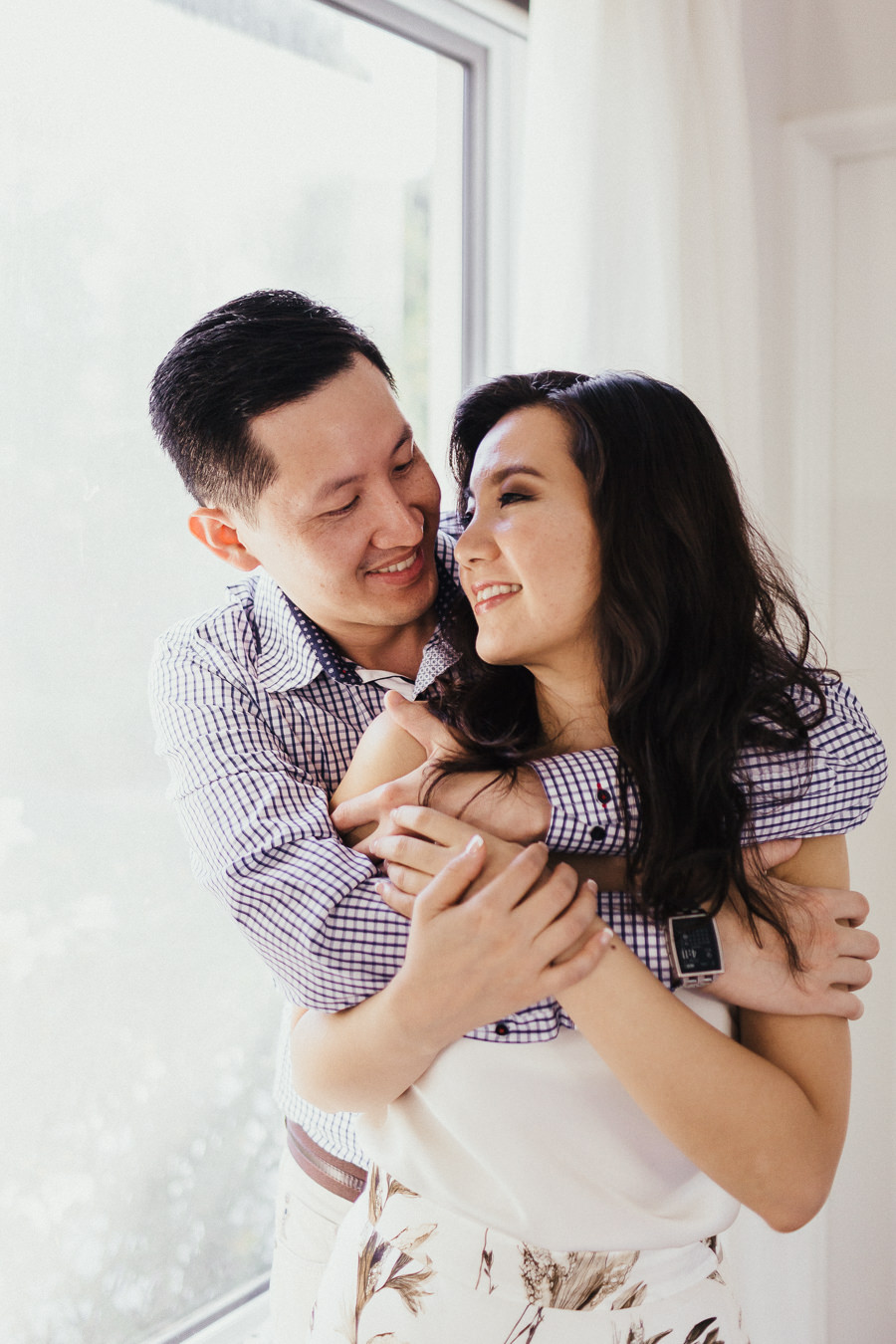 Vu & Man's Pre-Wedding Portraits by Capture & Rapture Photography